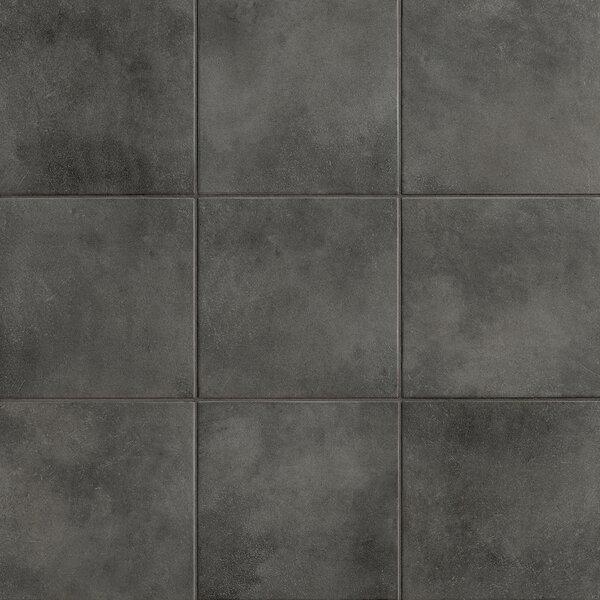Poetic License 18 x 18 Porcelain Field Tile in Steel by PIXL
