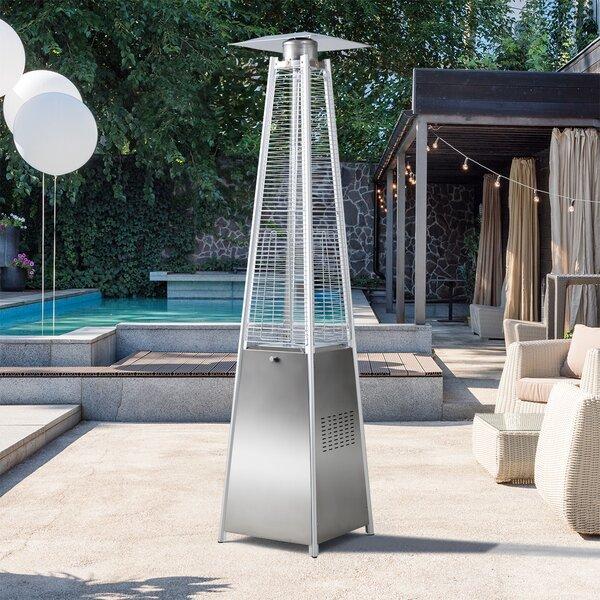 Gazebo CSA Certificatio Propane Patio Heater Tabletop Patio Heater Outdoor Vertical Desktop Umbrella-shaped Gas Heater Umbrella Heater W//Adjustable Thermostat Suitable for Yard Commercial Restaurant