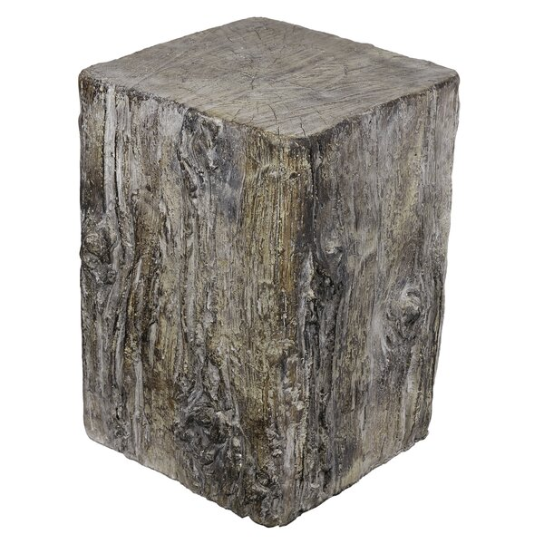 Fources Cement Stool by Loon Peak