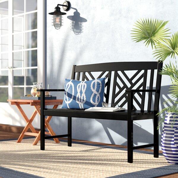 Katia Wooden Garden Bench By Beachcrest Home