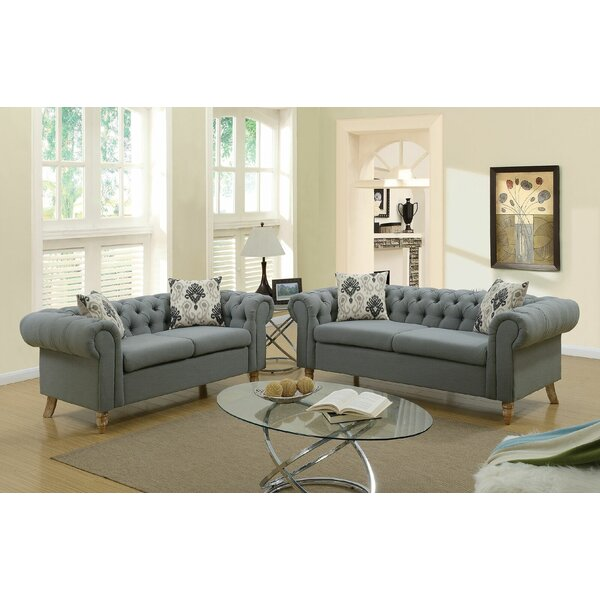 Champaign 2 Piece Living Room Set by Alcott Hill
