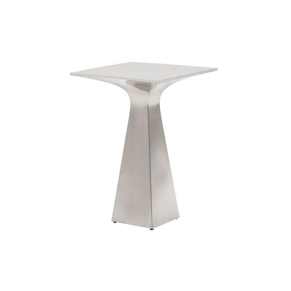 Kitano Sato Stainless Steel End Table by Lexington