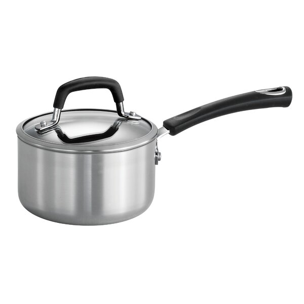 Aluminum Nonstick Sauce Pan with Lid by Tramontina