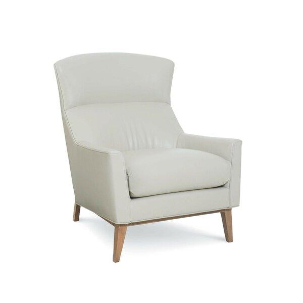 Franz Leather Armchair by CR Laine