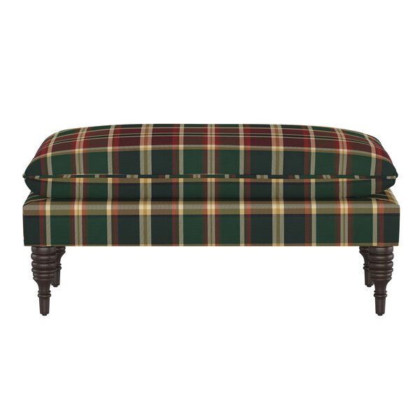 Fulda Upholstered Bench by August Grove