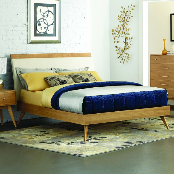 Aspen Upholstered Platform Bed by Modern Rustic Interiors