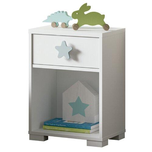 Nachttisch Copeland Roomie Kidz Farbe: weiß | Schlafzimmer > Nachttische | Roomie Kidz