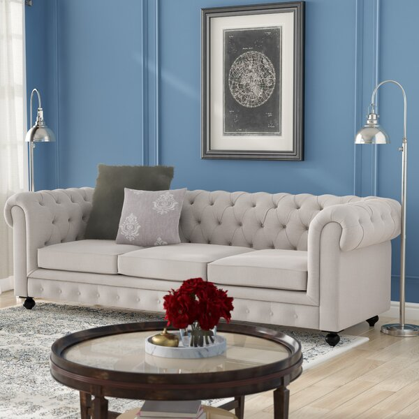 Chester Chesterfield Sofa by Darby Home Co