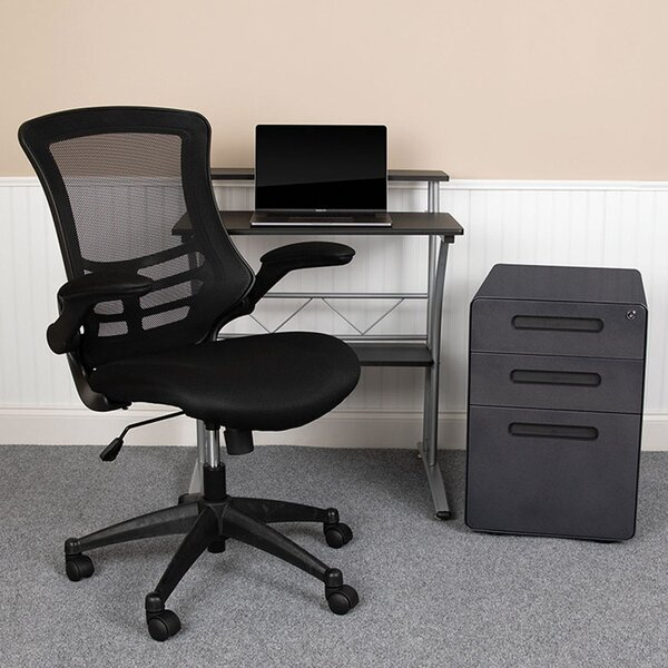 Alexendria Desk, Filing Cabinet, Chair Set