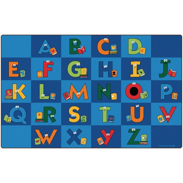 Reading Letters Library Kids Area Rug by Carpets for Kids