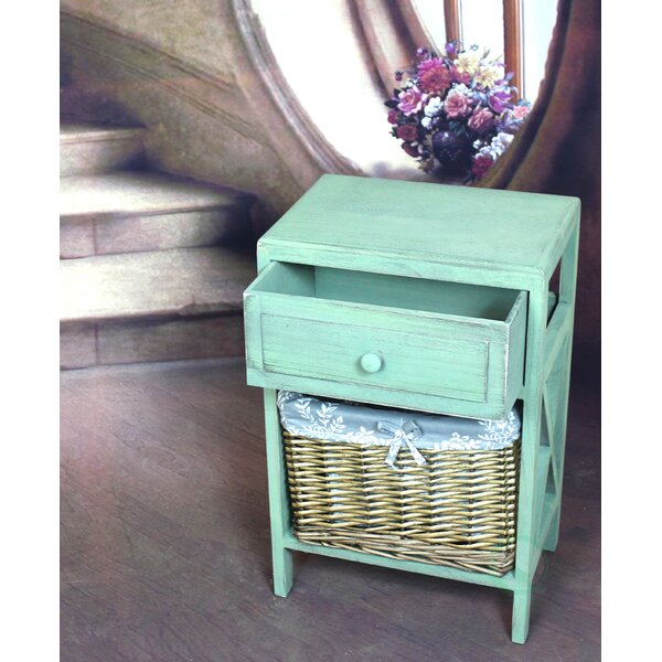 1 Drawer Nightstand by Quickway Imports