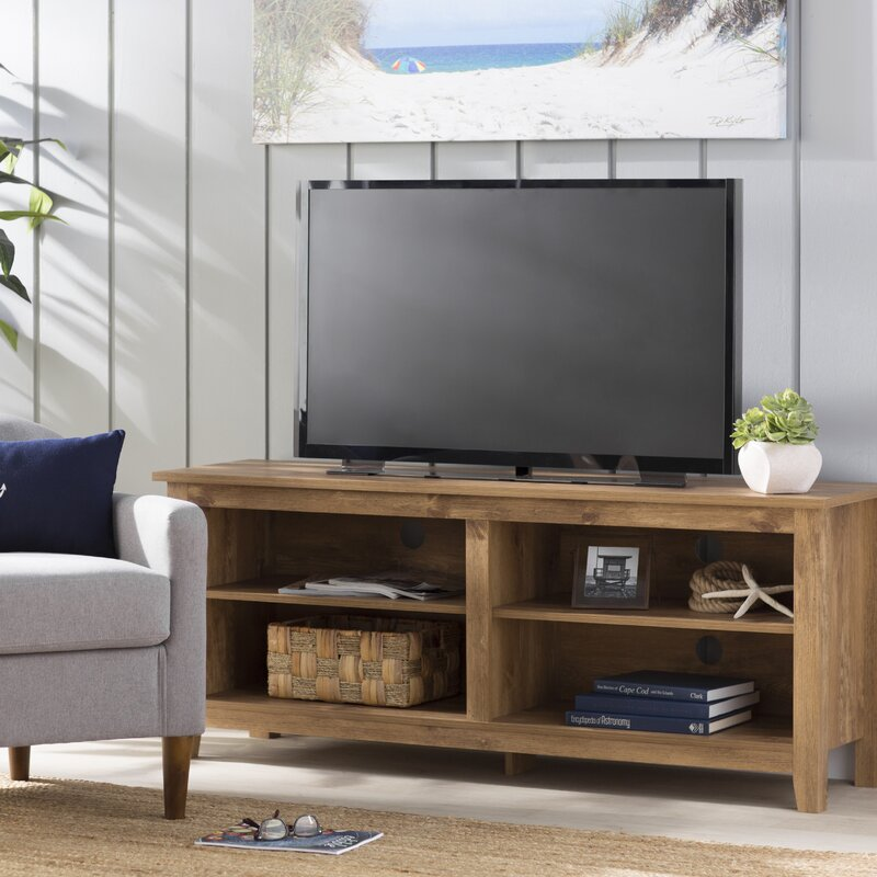 "Beachcrest Home Sunbury TV Stand for TVs up to 65"" & Reviews 