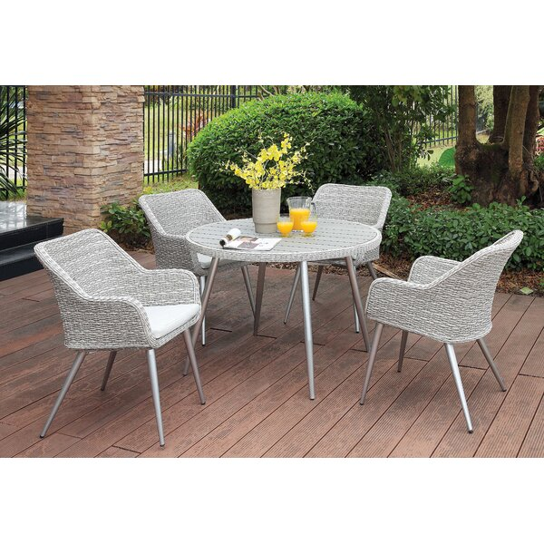 Julius 5 Piece Dining Set by Langley Street