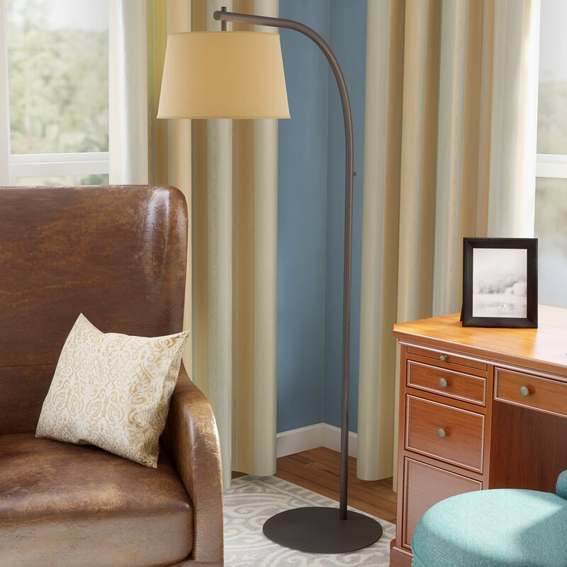 Sweep 69 arched floor lamp