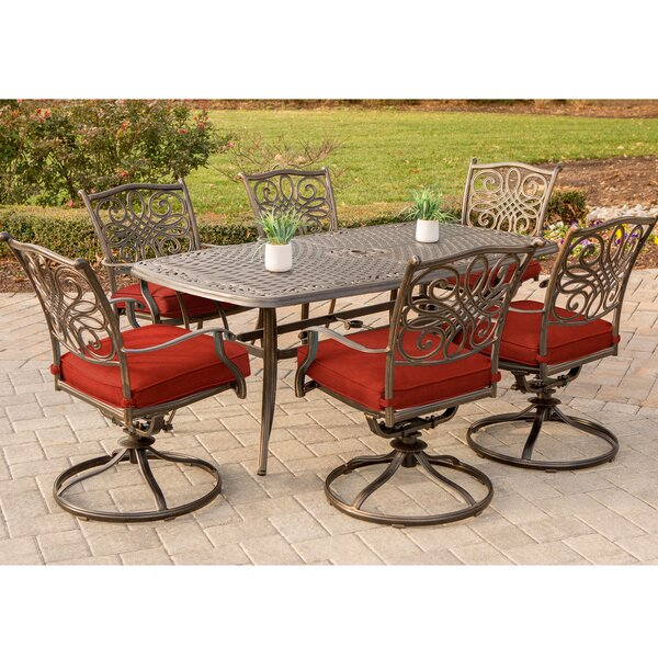 Racette Traditions 7 Piece Dining Set by Astoria Grand