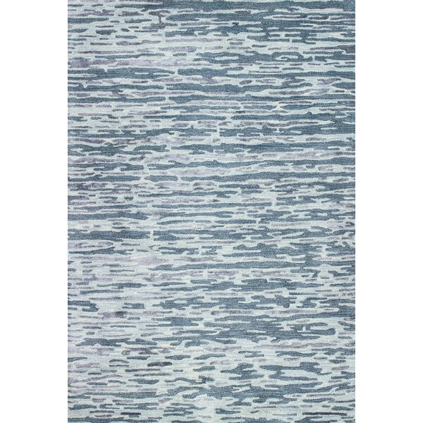 Janice Hand-Tufted Blue Area Rug by Latitude Run