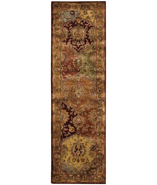 Bassham Hand-Tufted Wool Multicolor Area Rug