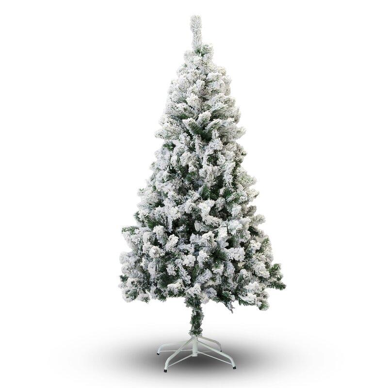5' Snow Flocked Artificial Christmas Tree - 5' Snow Flocked Artificial Christmas Tree