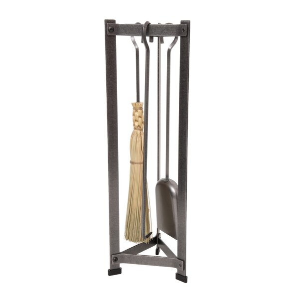 3 Piece Fireplace Steel Tool Set by Enclume