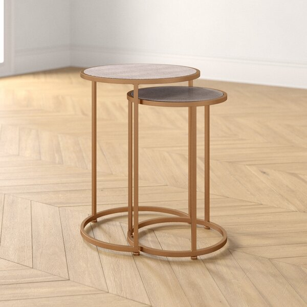 James 2 Piece Nesting Tables By Foundstone