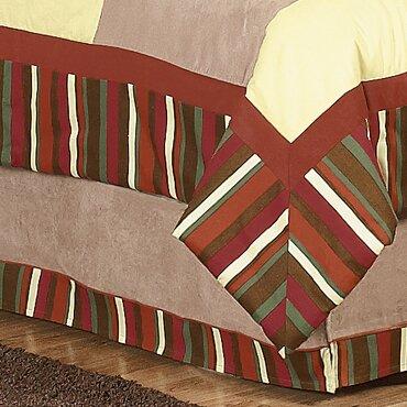 Monkey Queen Bed Skirt by Sweet Jojo Designs