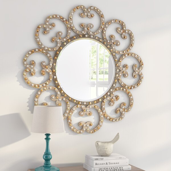 Laurier Wall Mirror by Lark Manor