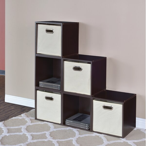 Castillo Cube Unit Bookcase (Set of 6) by Rebrilliant