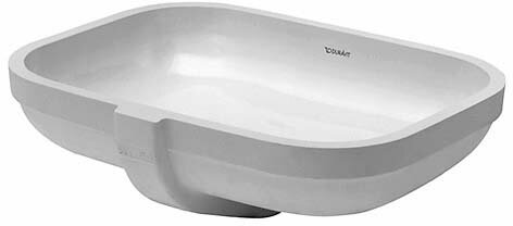 Happy D.2 Ceramic Oval Undermount Bathroom Sink with Overflow
