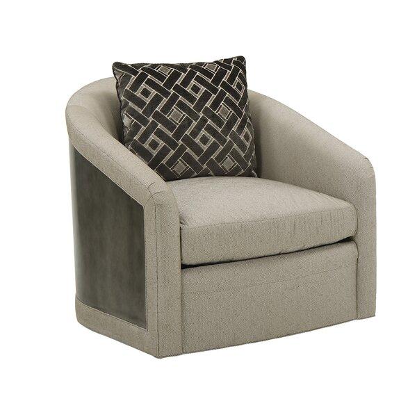 Swivel Barrel Chair By Dowton Abbey