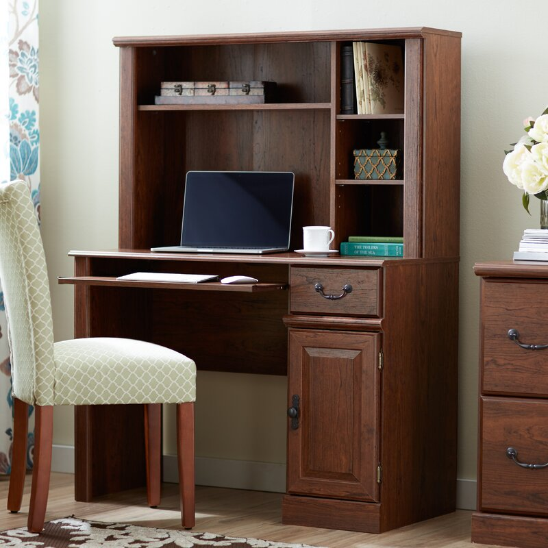 Leith Computer Desk With Hutch