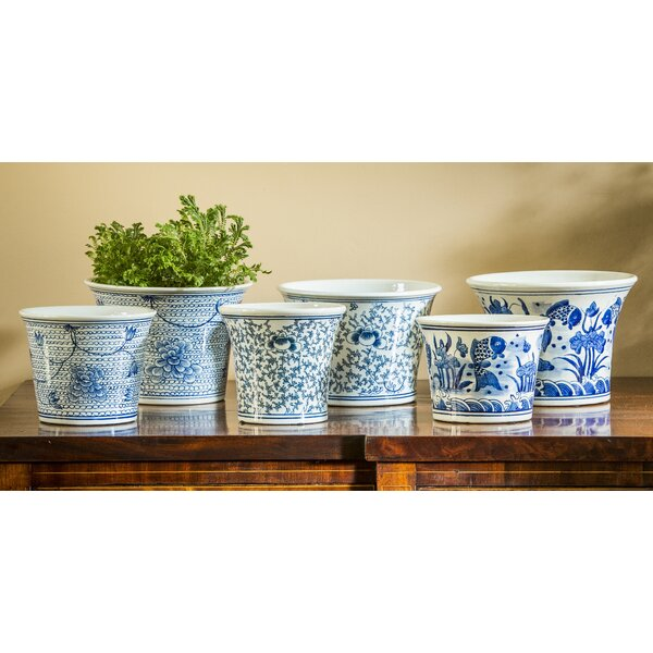 Marjory Flared 6-Piece Terra Cotta Pot Planter Set by Darby Home Co