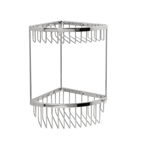 Classic 2 Tier Corner Shower Caddy by Valsan