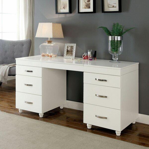 Scales Vanity Desk with Mirror by Red Barrel Studio Red Barrel Studio