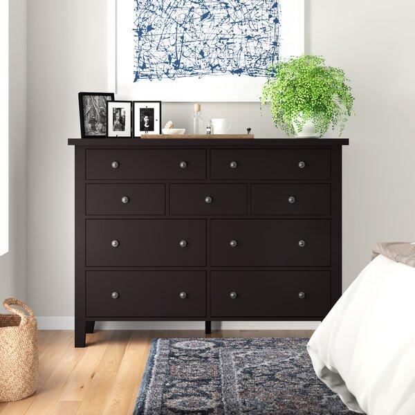 Willacoochee 9 Drawer Dresser by Three Posts