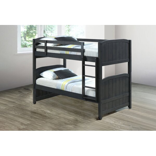 Cassville Twin over Twin Bunk Bed by Harriet Bee