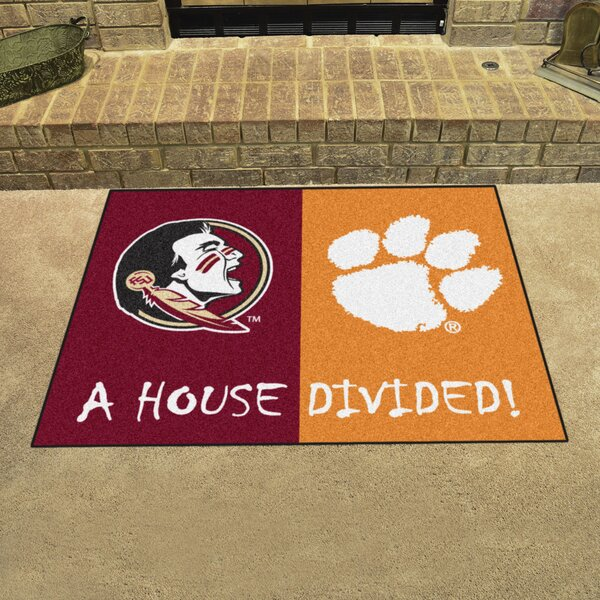 House Divided - Florida State / Clemson Doormat by FANMATS