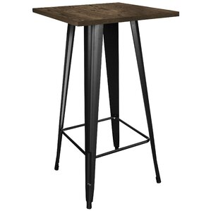 Kori Loft Black Pub Table by Trent Austin Design