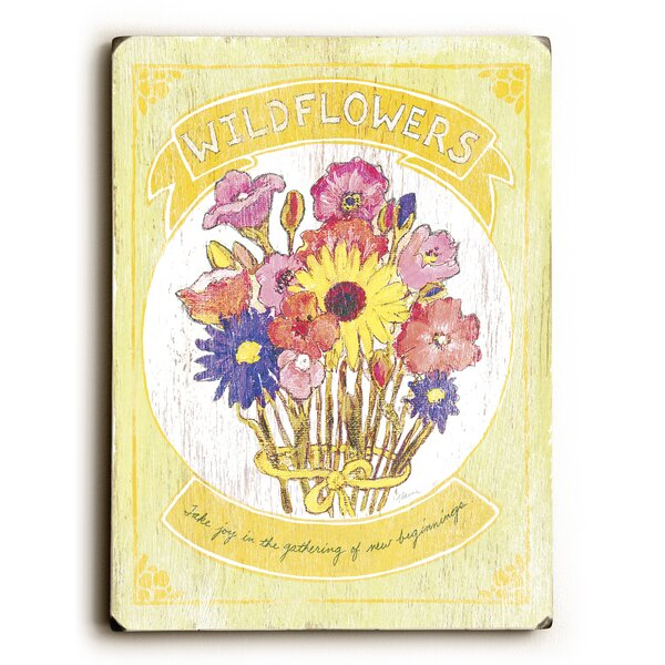 Wildflowers Graphic Art by Artehouse LLC