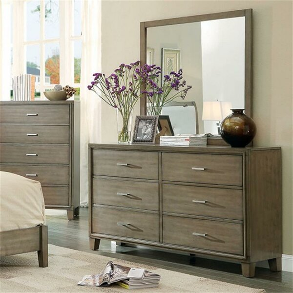 Kensley 6 Drawer Dresser by Foundry Select