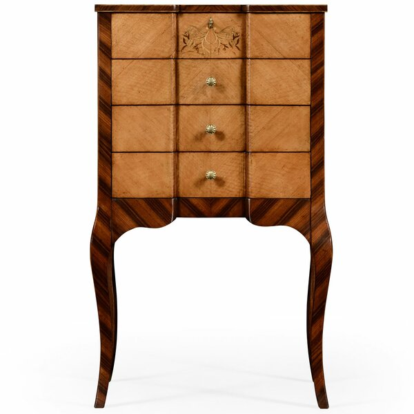Versailles 3 Drawer Accent Chest By Jonathan Charles Fine Furniture