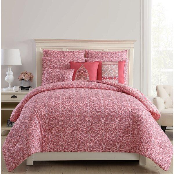 Meacham 8 Piece Reversible Comforter Set by Alcott Hill