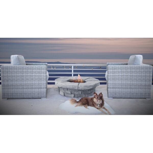 Kegler 3 Piece Conversation Set with Cushions by Orren Ellis