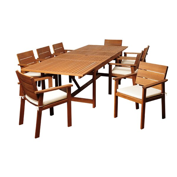 Brighton Patio Furniture.Amazing Brighton 9 Piece Dining Set With Cushion By Sol 72 Outdoor