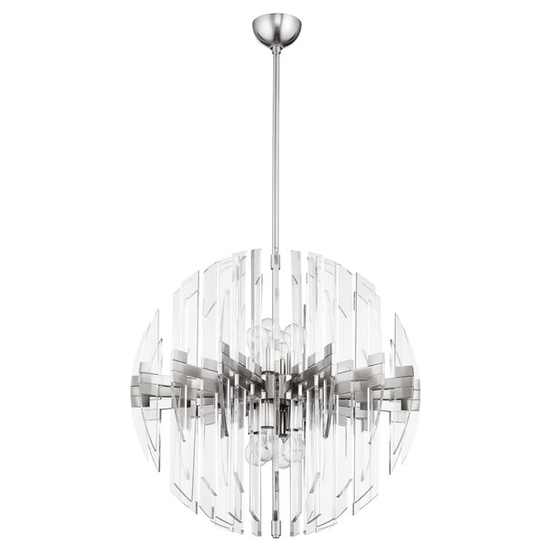 Zion 8 - Light Unique/Statement Globe Chandelier by Cyan Design Cyan Design