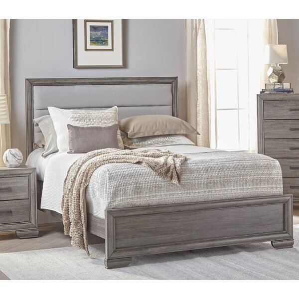Chicora Upholstered Standard Bed by Ophelia & Co.