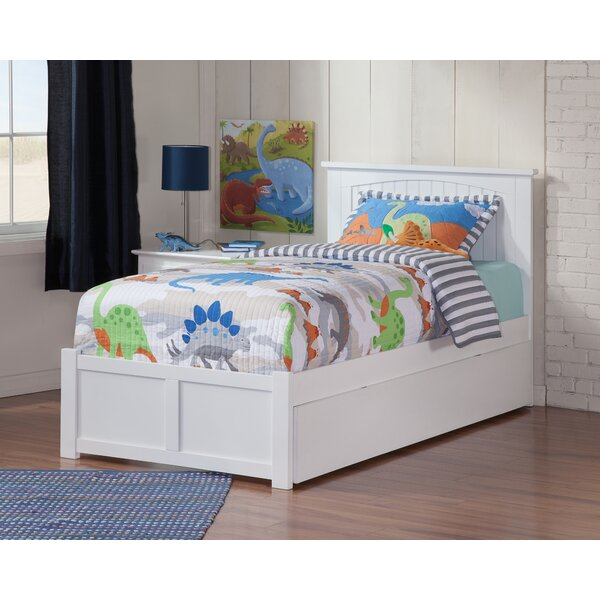 Graham Platform Bed With Trundle By Beachcrest Home by Beachcrest Home Fresh