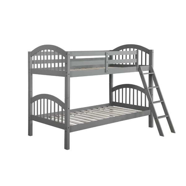 Bork Arch Twin Bunk Bed by Harriet Bee
