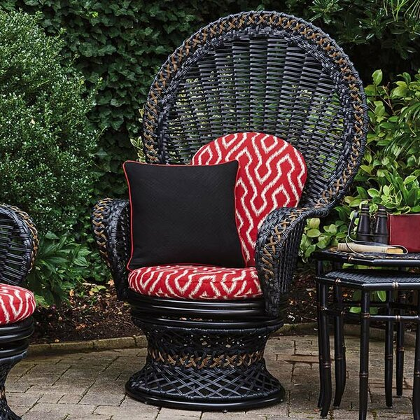Marimba Swivel Fan Chair with Cushion by Tommy Bahama Outdoor
