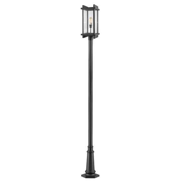 Beeching Outdoor 1-Light 119.38 Post Light by Ivy Bronx