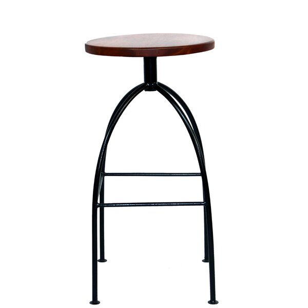 Macgyver 30 Swivel Bar Stool by Gracie Oaks